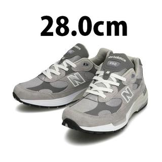 New Balance - 28cm 国内正規品 New Balance M992GR GRAY 新品