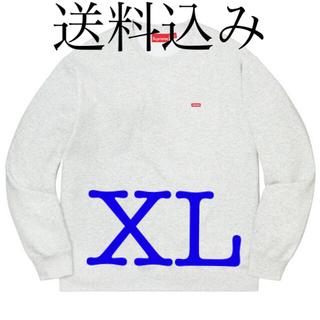 シュプリーム(Supreme)のsupreme small box crewneck ボックスロゴ (スウェット)