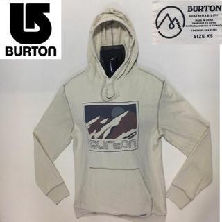 バートン(BURTON)のBURTON バートン◆プルオーバー パーカー◆ベージュ  XSサイズ(パーカー)