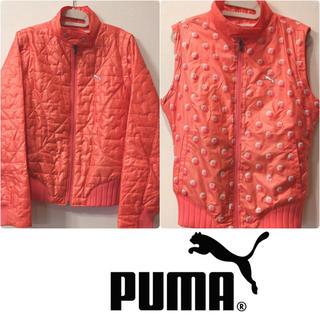 プーマ(PUMA)の価格交渉可 試着のみ PUMA リバーシブル 2WAY ダウンジャケット ベスト(ウエア)