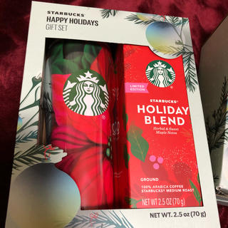 Starbucks Coffee - コストコ Starbucks happy holiday ギフトセット一箱