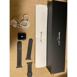 Apple Watch - アップルウォッチ series3 ナイキ  38
