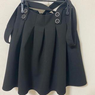 イングファースト(INGNI First)のサロペットスカート フレアスカート(スカート)
