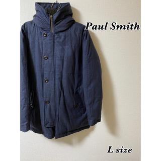 ポールスミス(Paul Smith)の【美品】PaulSmith ダウンジャケット ネイビー(ダウンジャケット)