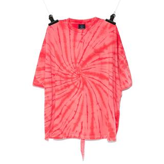PEACEMINUSONE - PEACEMINUSONE  タイダイTシャツ RED#5