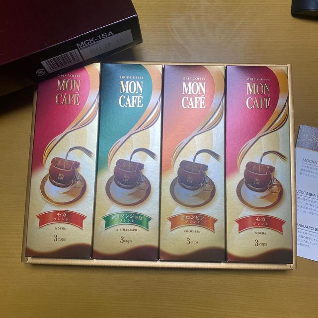 モンカフェ ドリップコーヒー 12袋 食品/飲料/酒の飲料(コーヒー)の商品写真