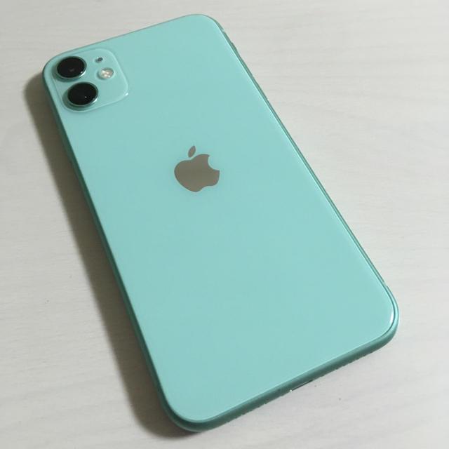 iPhone(アイフォーン)の美品 iPhone11 本体 128GB SIMフリー スマホ/家電/カメラのスマートフォン/携帯電話(スマートフォン本体)の商品写真