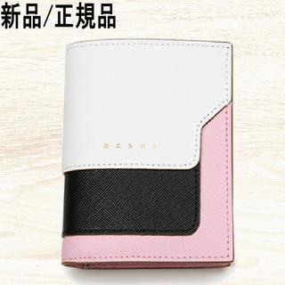 マルニ(Marni)の◆新品◆ MARNI バイフォールド ウォレット サフィアーノ(財布)