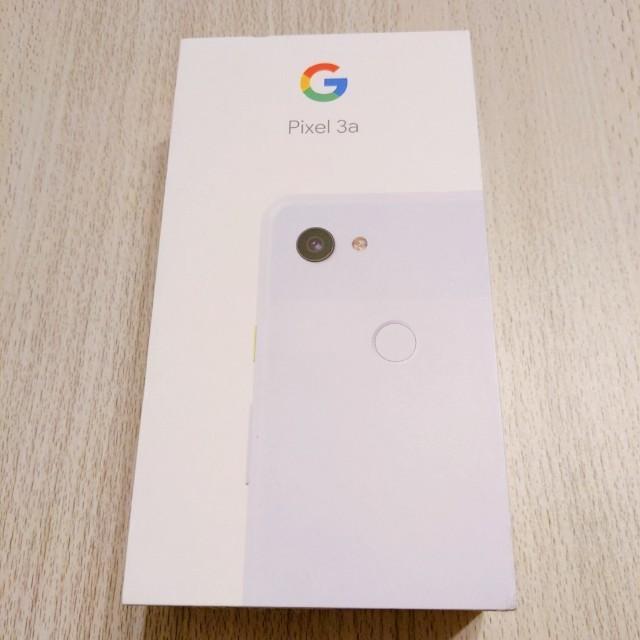 ANDROID(アンドロイド)のGoogle Pixel 3a SIMフリー Purple-ish スマホ/家電/カメラのスマートフォン/携帯電話(スマートフォン本体)の商品写真