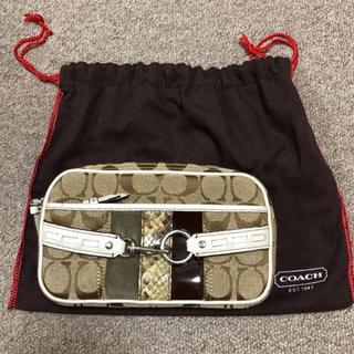 COACH - coachカメラバッグ