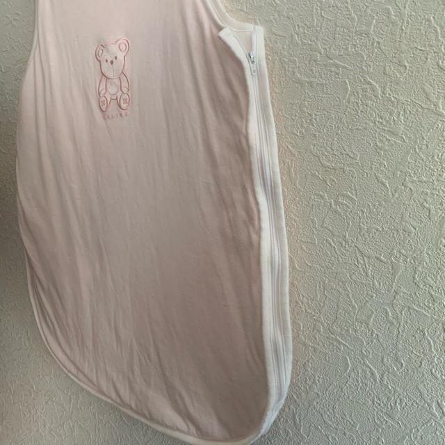 celine(セリーヌ)のセリーヌ スリーパー ピンク キッズ/ベビー/マタニティのこども用ファッション小物(おくるみ/ブランケット)の商品写真
