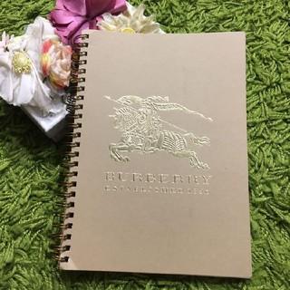 BURBERRY - burberryバーバリー レディ手帳 ノート