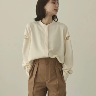 TODAYFUL - louren ブラウスシャツ【shoulder cut over blouse】