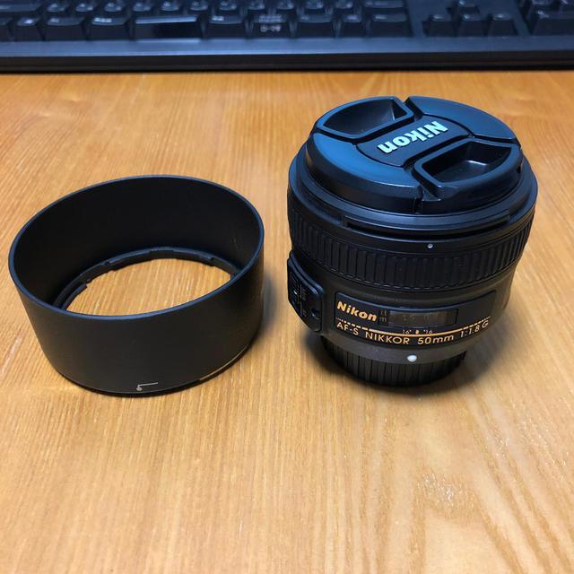 Nikon(ニコン)のNikon AF-S NIKKOR 50mm f/1.8G スマホ/家電/カメラのカメラ(レンズ(単焦点))の商品写真