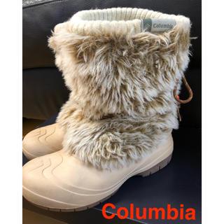 コロンビア(Columbia)のコロンビア モコモコ スノー ブーツ Columbia 23cm(ブーツ)