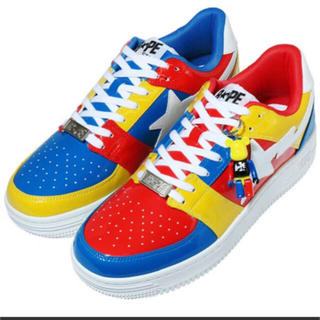 メディコムトイ(MEDICOM TOY)のMEDICOM TOY BAPE STA LOW   28cm(スニーカー)