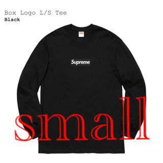 Supreme - Supreme Box Logo L/S Tee Black ボックスロゴ S