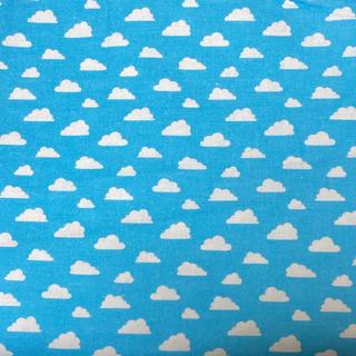 トイストーリー(トイ・ストーリー)のトイストーリー 壁紙 青空柄 生地 140×100  綿100%(生地/糸)