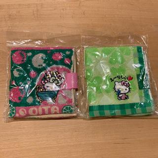 ハローキティ(ハローキティ)のプチジャガードタオル(日用品/生活雑貨)