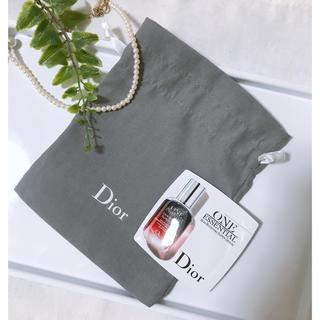 Dior - ディオール 巾着 ポーチ /ディオール ワンエッセンシャル セラム 美容液