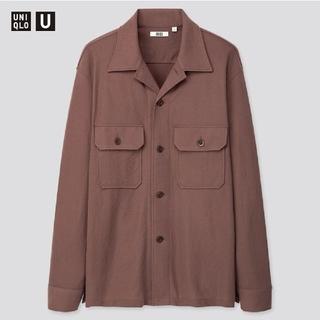 UNIQLO - 【最値下げ】UNIQLO U 2020ss ミリタリージャージーシャツ