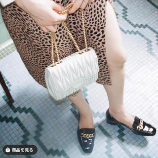 スナイデル(snidel)の♡ quilting chain bag -milk- ♡(ショルダーバッグ)
