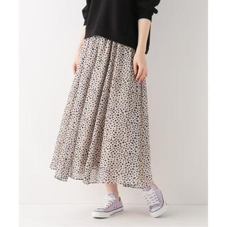 IENA - 美品 ベーセーストック スベイクルーズ ダルメシアン ギャザースカート