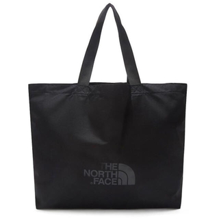 THE NORTH FACE - 新品 ノースフェイス 黒色☆ ショッパーバッグ L エコバッグ トートバッグ