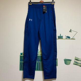 アンダーアーマー(UNDER ARMOUR)の新品 アンダーアーマー  コールドギアジャージ・パンツ「青」(トレーニング用品)