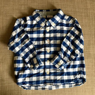 ムジルシリョウヒン(MUJI (無印良品))の無印良品 チェック シャツ 80 (シャツ/カットソー)