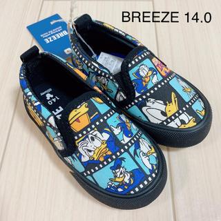 ブリーズ(BREEZE)の☆値下☆新品タグ付き BREEZE ドナルド スリッポン 14.0cm(スリッポン)