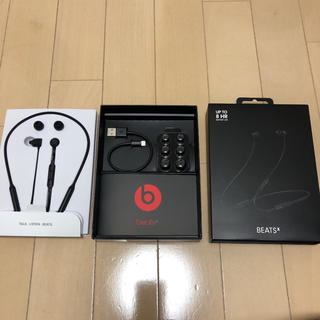 ビーツバイドクタードレ(Beats by Dr Dre)のBeatsX ビーツX 美品(ヘッドフォン/イヤフォン)