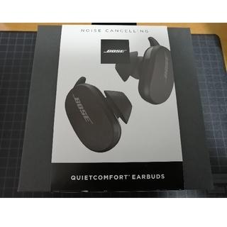 新品未開封 BOSE QuietComfort Earbuds トリプルブラック