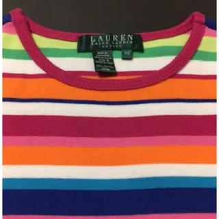 ラルフローレン(Ralph Lauren)のLAUREN RALPH LAUREN ボーダー Tシャツ マルチカラー(Tシャツ(半袖/袖なし))