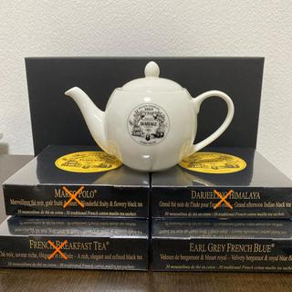 マリアージュフレール 茶葉とポットのセット(茶)
