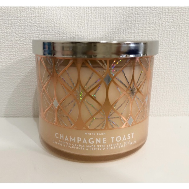 Bath & Body Works(バスアンドボディーワークス)のBath & Body Works Champagne Toast キャンドル コスメ/美容のリラクゼーション(キャンドル)の商品写真