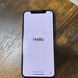 アイフォーン(iPhone)のiPhoneXS シルバー 256GB(スマートフォン本体)