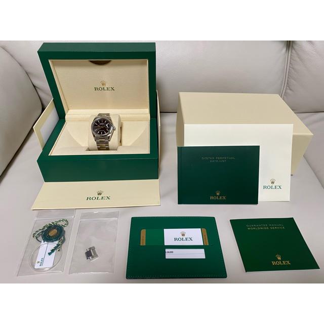 ROLEX(ロレックス)の三太郎さん専用★新品★ロレックス デイトジャスト36  126200  メンズの時計(腕時計(アナログ))の商品写真