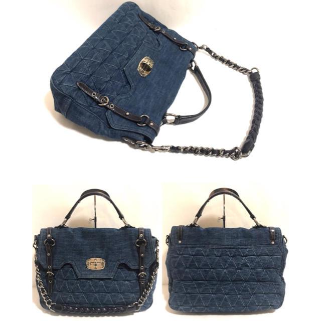miumiu(ミュウミュウ)の【正規品】miumiu✨2way/ショルダーバッグ/ミュウミュウ レディースのバッグ(ショルダーバッグ)の商品写真