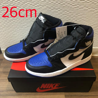 ナイキ(NIKE)のNIKE AIR JORDAN 1 RETRO HIGH Royal Toe (スニーカー)