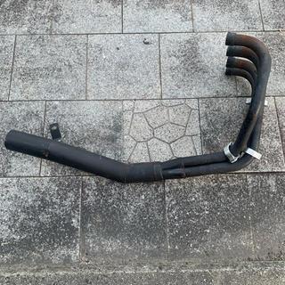 カワサキ(カワサキ)のゼファー400 マフラー ショート管 ゼファーx(パーツ)