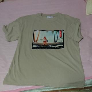 アベイル(Avail)の☆【sale】☆フロッキープリントT(Tシャツ(半袖/袖なし))