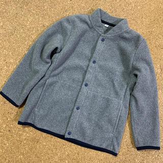 MUJI (無印良品) - 子供用 フリース ブルゾン(110)