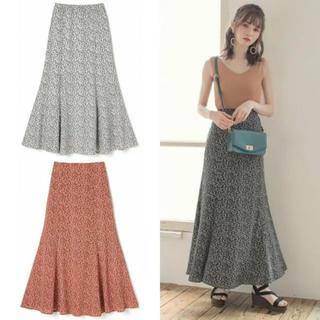 GRL - GRL 花柄マーメイドスカート