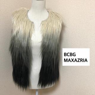 ビーシービージーマックスアズリア(BCBGMAXAZRIA)のBCBGMAXAZRIA ファーベスト(ベスト/ジレ)