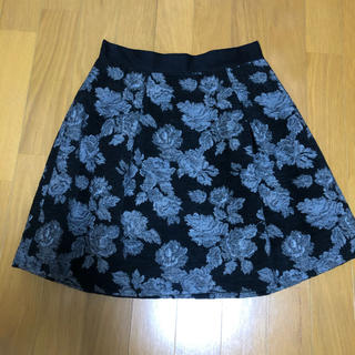 PATTERN fiona - ウール混フラワースカート