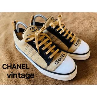 CHANEL - CHANEL vintage スニーカー