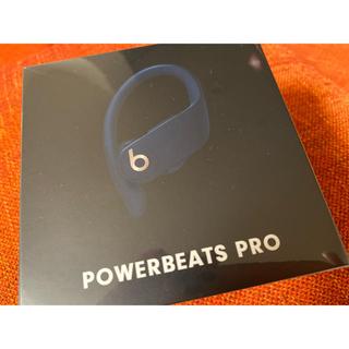 ビーツバイドクタードレ(Beats by Dr Dre)の【新品未使用】 Powerbeats Pro ネイビー(ヘッドフォン/イヤフォン)