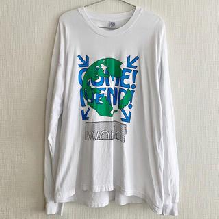 バレンシアガ(Balenciaga)のCome! Mend! World Tee ロンT オーバーサイズ(Tシャツ(長袖/七分))