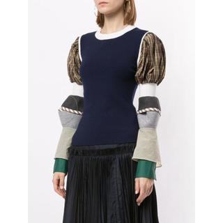 ENFOLD - 今日限定値下げEnfold  contrast sleeve jumper